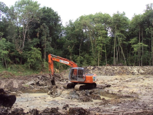 - Pond Construction in Crowborough